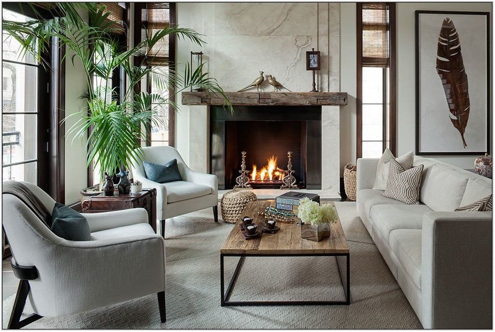 Contemporary Look Living Room