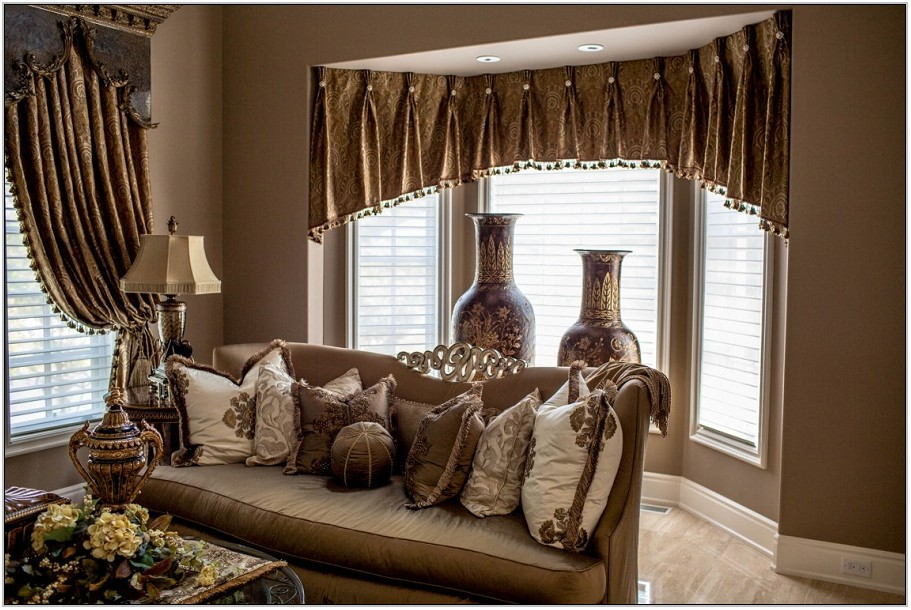 Contemporary Valances For Living Room