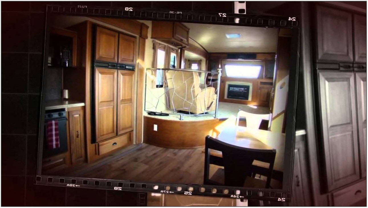 Cougar Fifth Wheel Front Living Room
