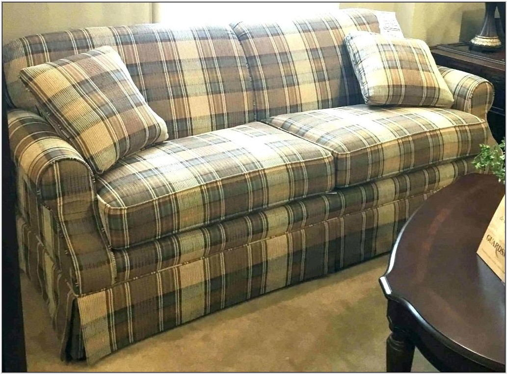 Country Plaid Living Room Furniture