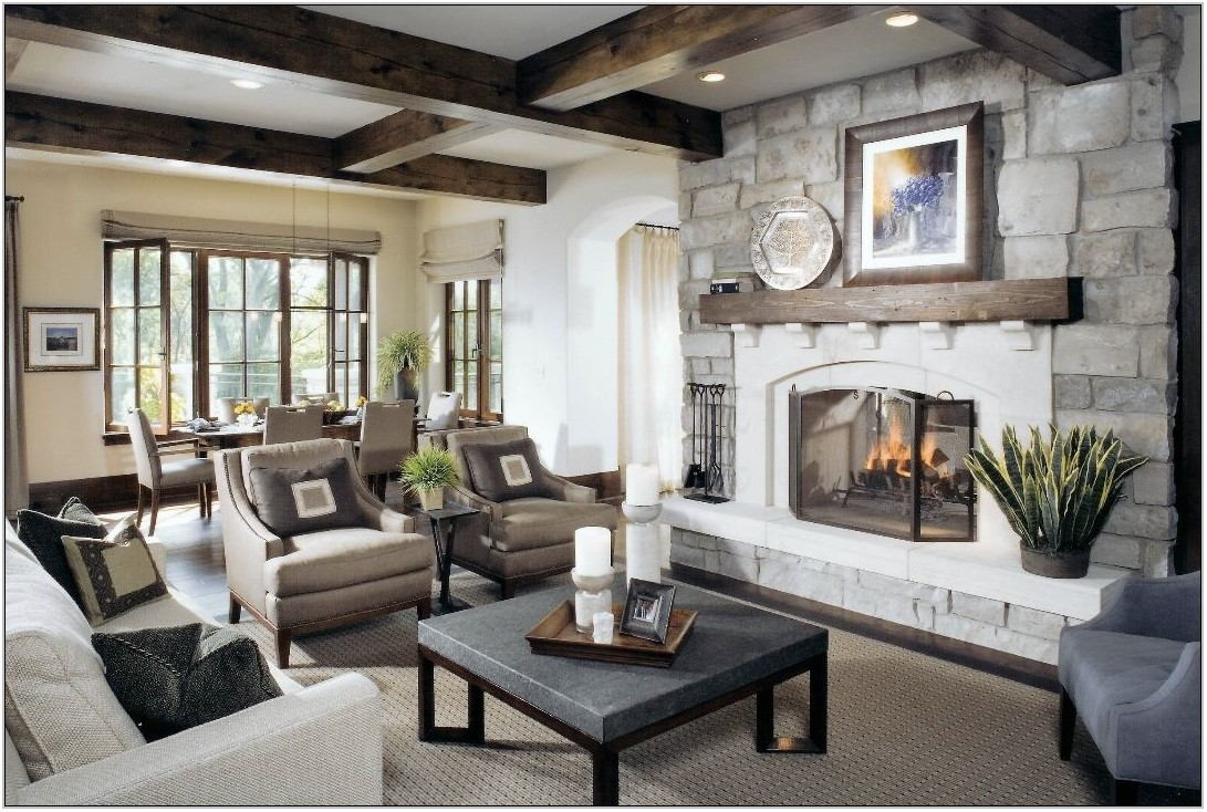 Country Style Living Room Decor