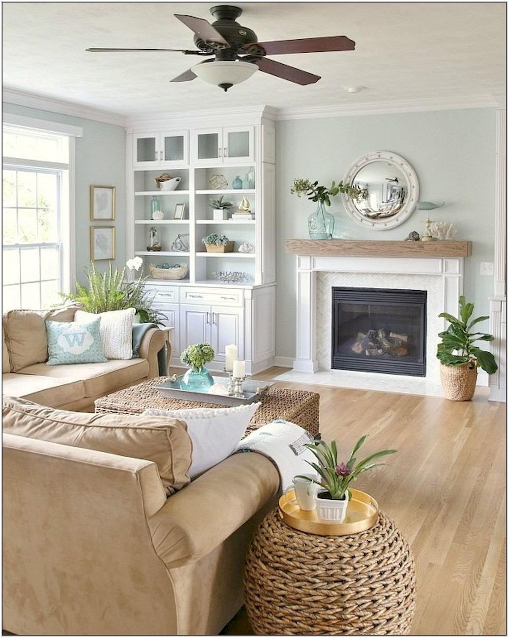 Cozy Coastal Living Room