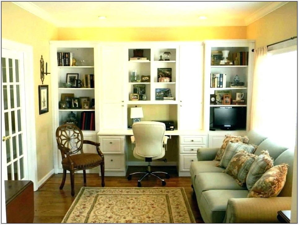 Create Office Space In Living Room