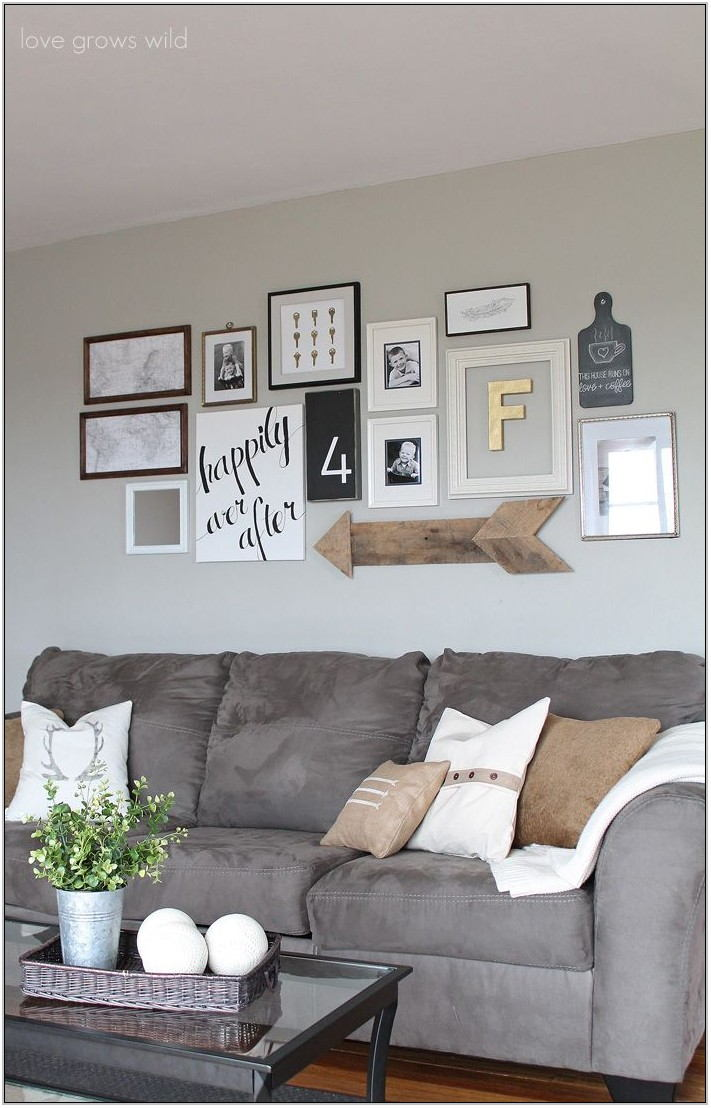 Creative Living Room Wall Decor