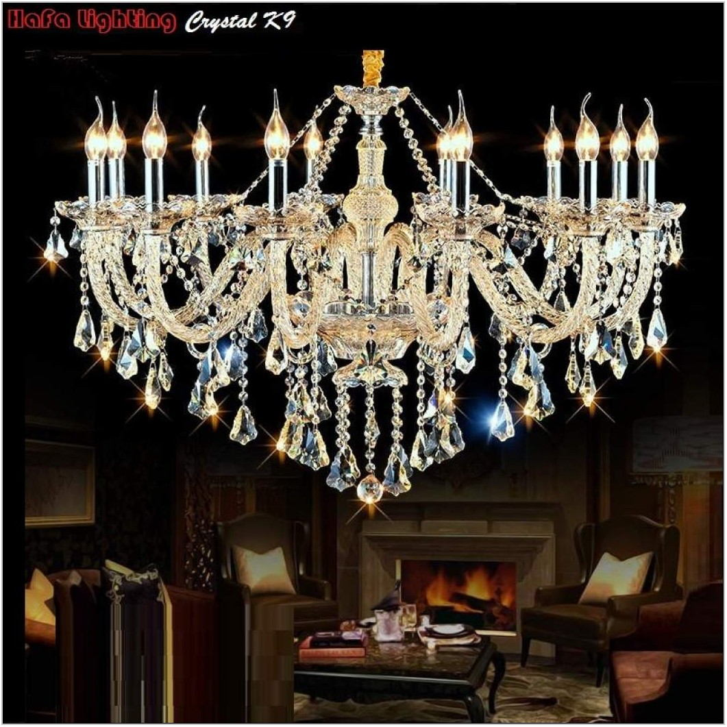 Crystal Living Room Lamps