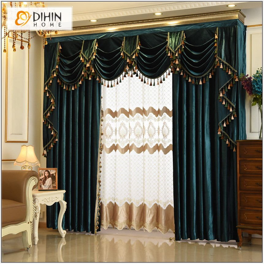 Custom Drapes For Living Room