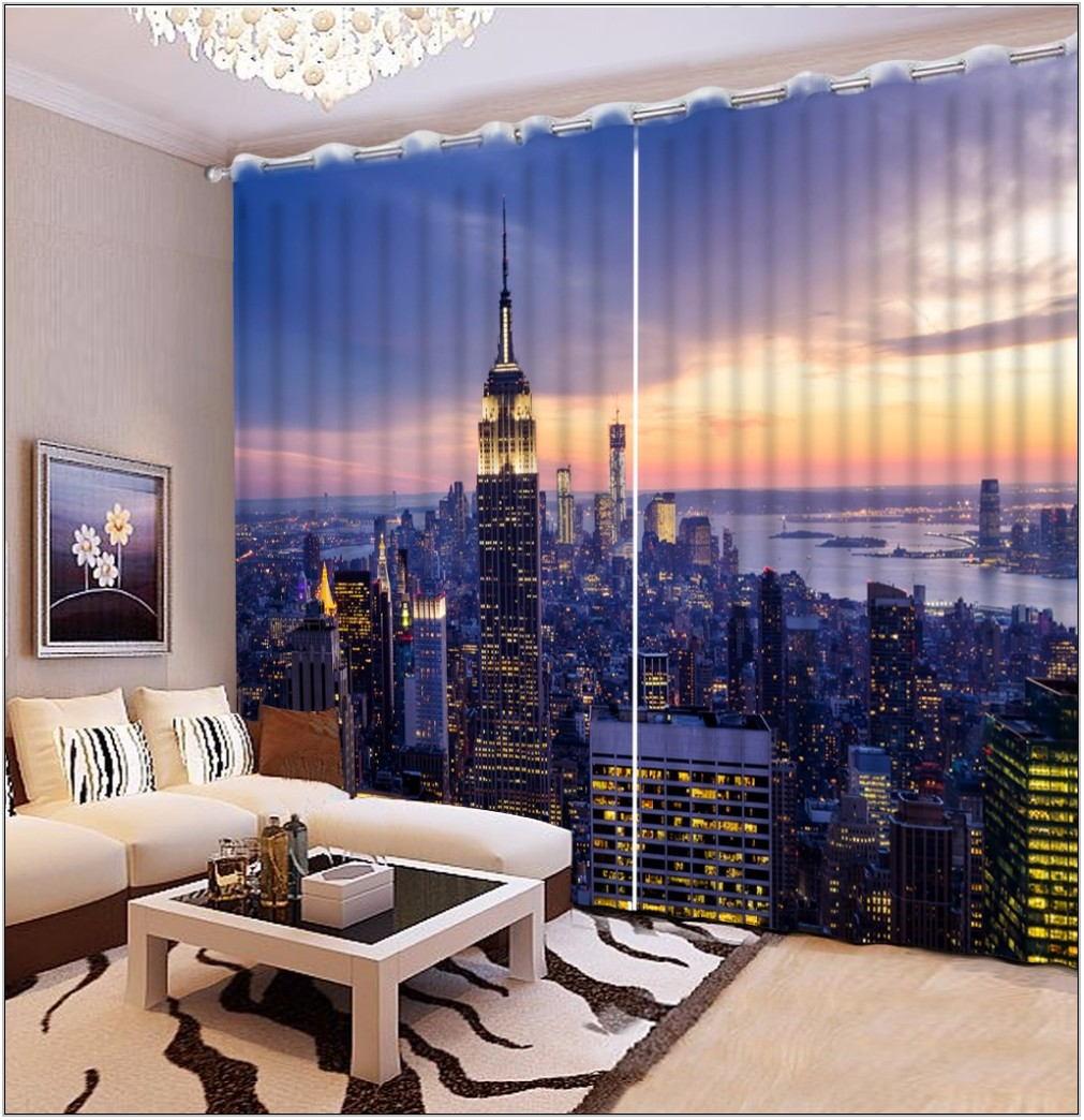 Custom Living Room Curtains