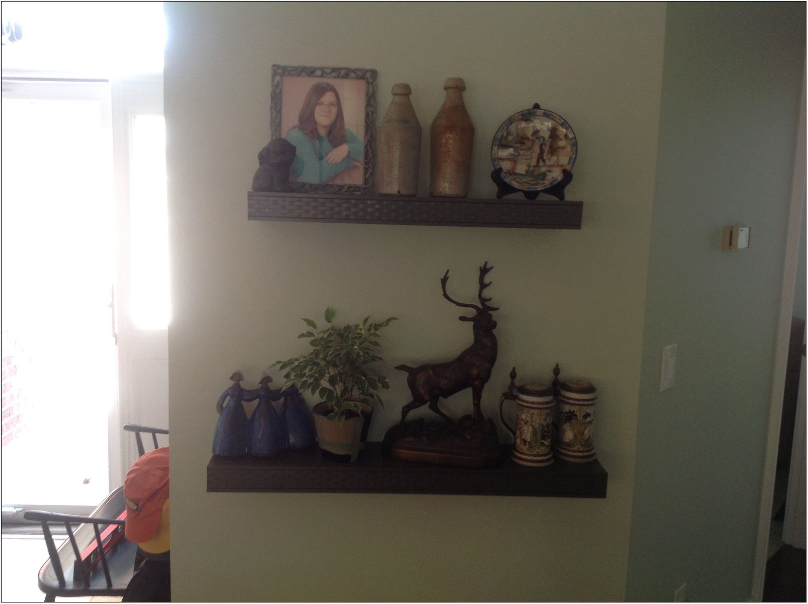 Custom Shelves For Living Room
