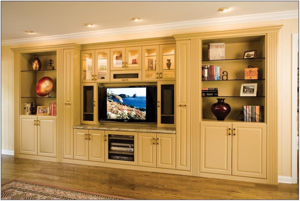 Custom Wall Units For Living Room