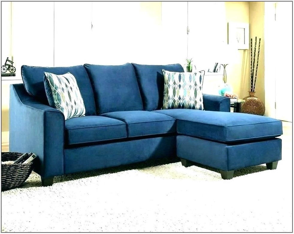 Dark Blue Couches Living Room