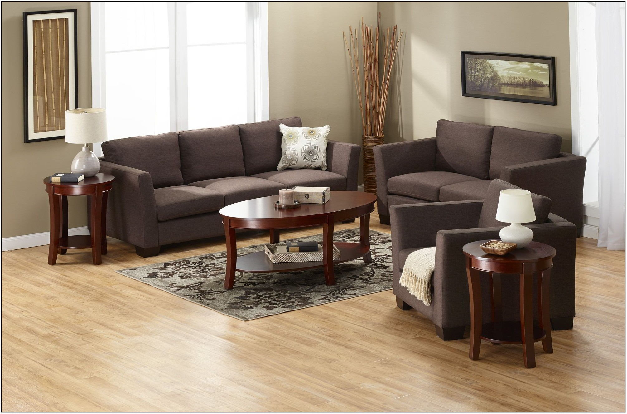 Dark Brown Living Room Tables