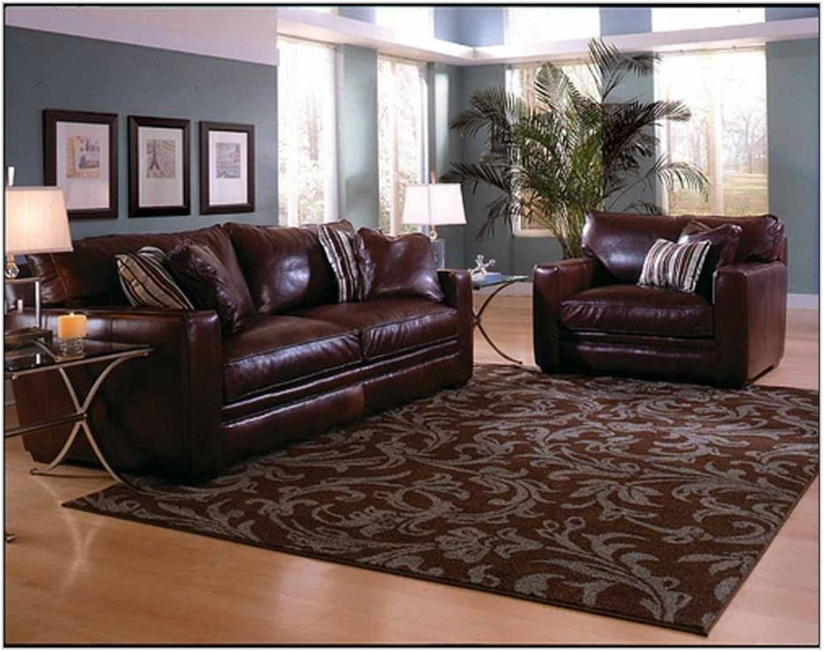 Dark Brown Rug Living Room