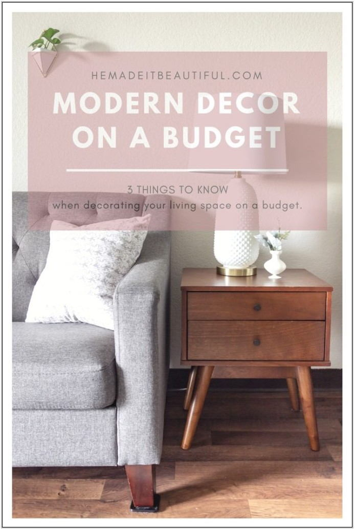 Decorating Your Living Room On A Budget