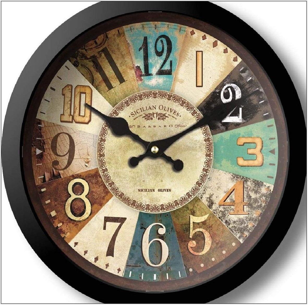 Designer Clocks For Living Room