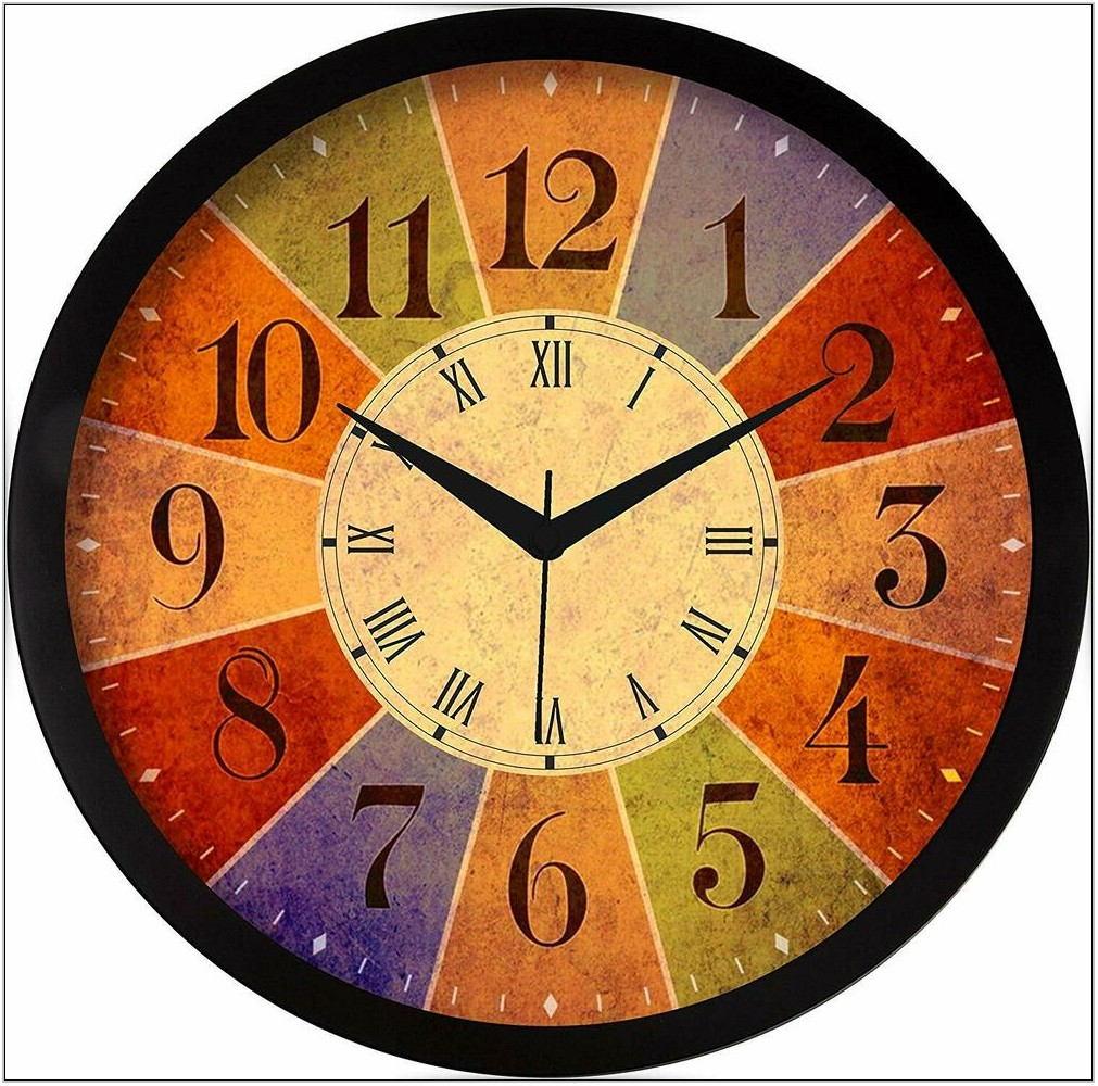 Designer Wall Clock For Living Room