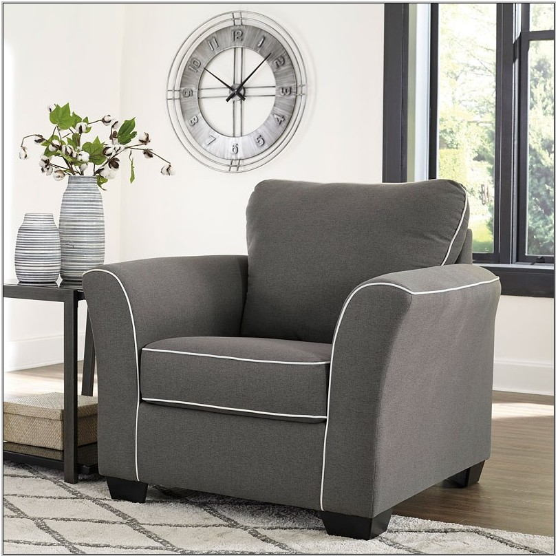 Domani Charcoal Living Room Set
