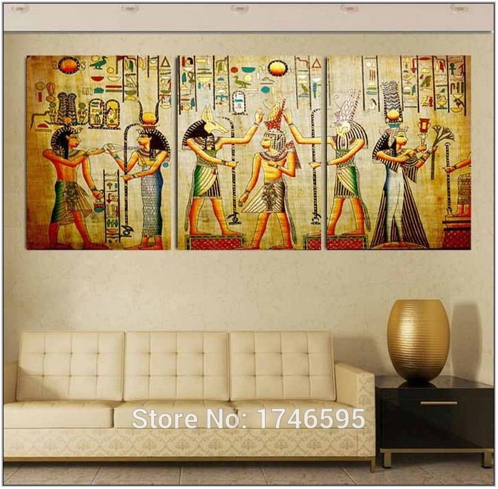 Egyptian Living Room Decor