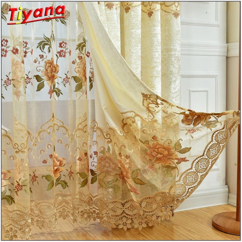 Elegant Drapes For Living Room