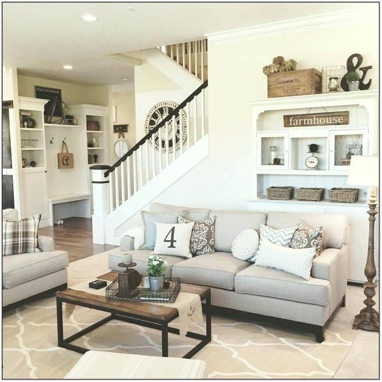 Farmhouse Chic Living Room Furniture