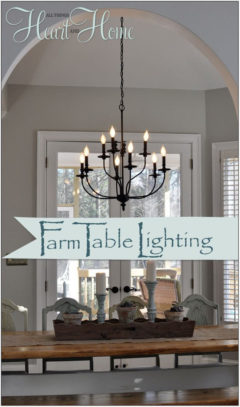 Farmhouse Light Fixtures Living Room