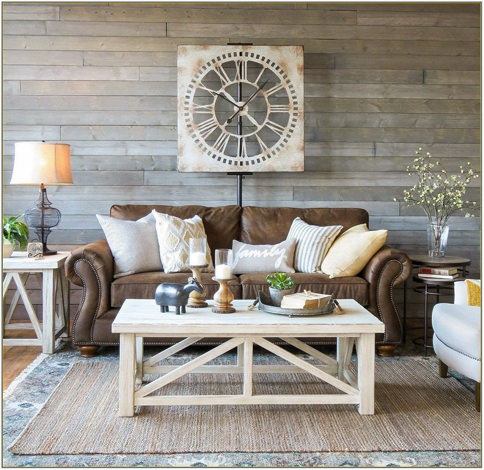 Farmhouse Living Room Couch