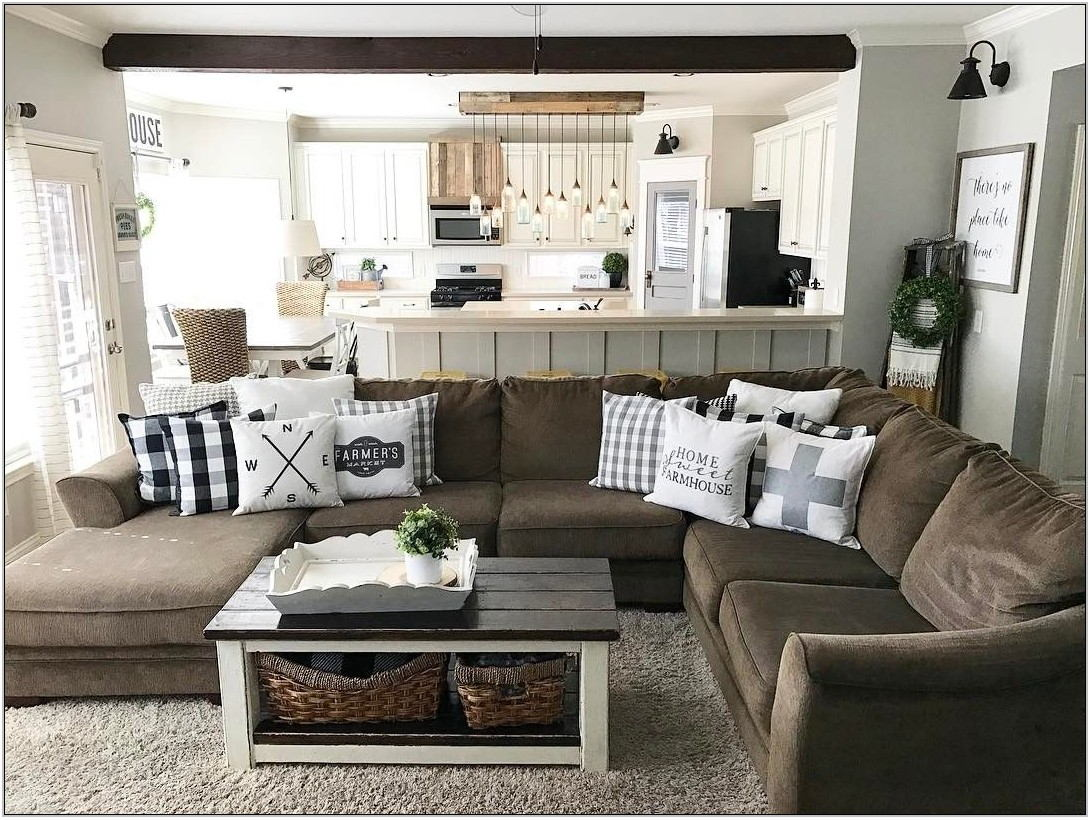 Farmhouse Living Room Sectional
