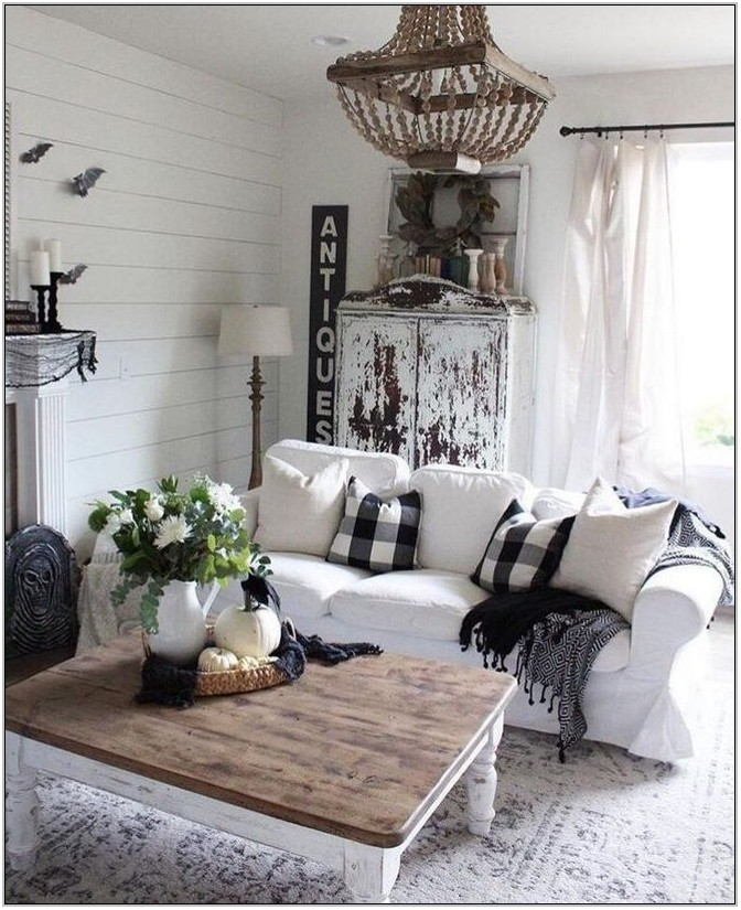 Farmhouse Living Room Table Lamps