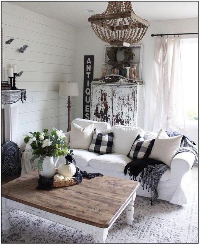 Farmhouse Living Room Table Lamps