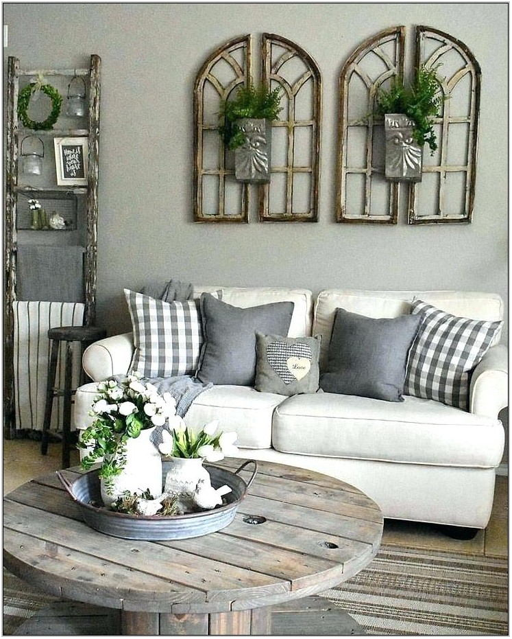 Farmhouse Living Room Tables