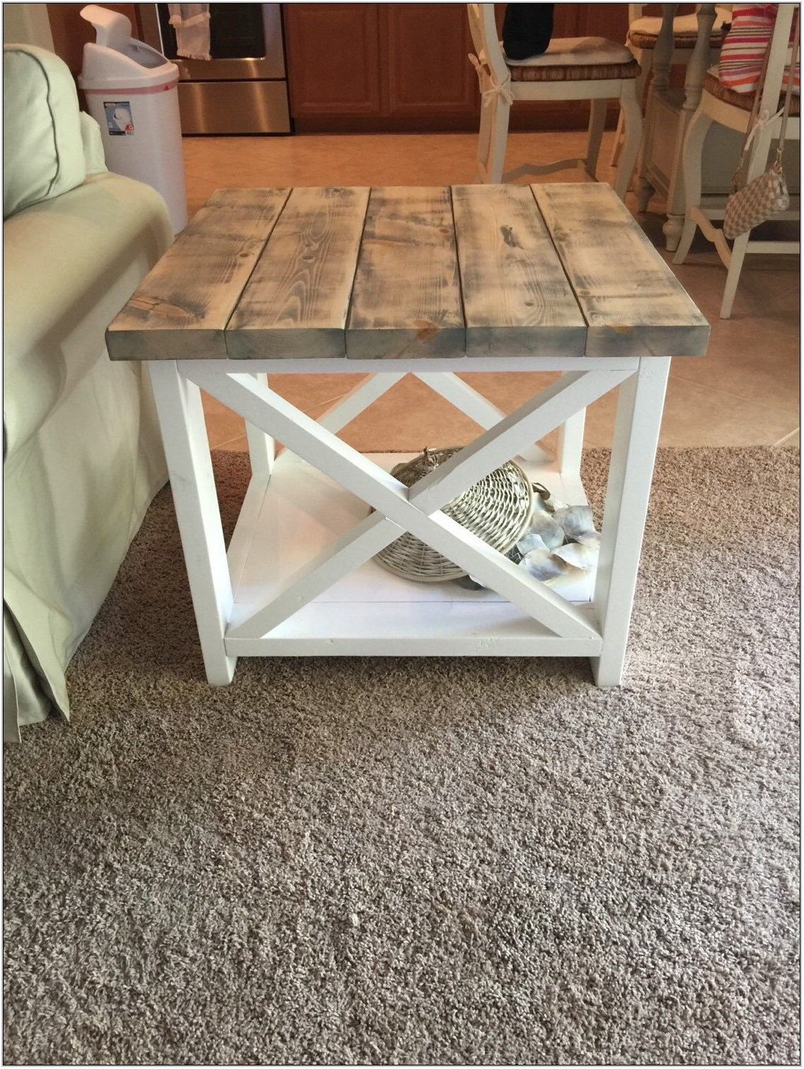 Farmhouse Style Living Room Tables
