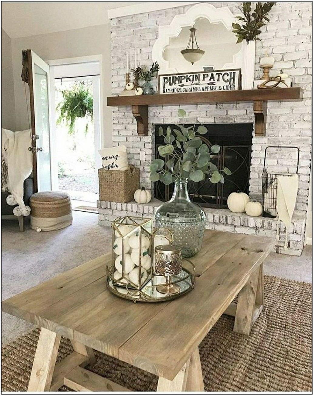 Fireplace Living Room Decor