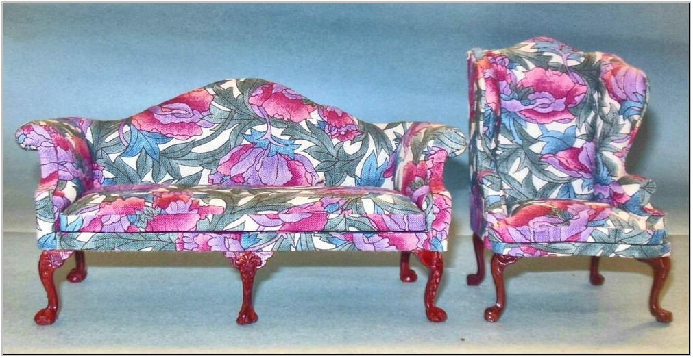 Floral Print Living Room Furniture