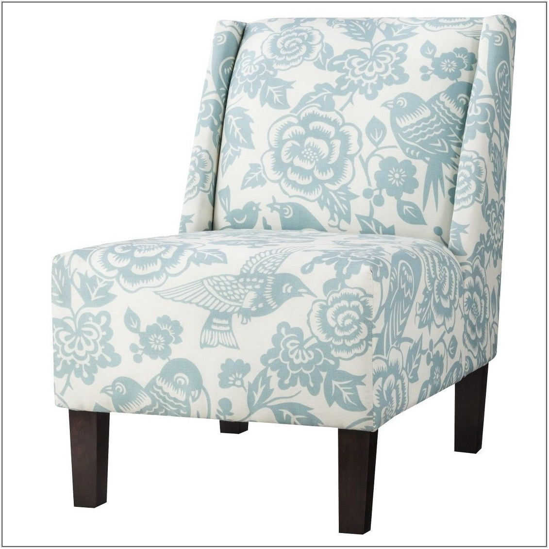 Floral Upholstered Living Room Chairs