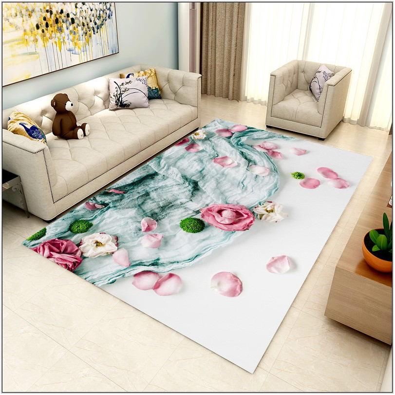 Flower Rugs For Living Room