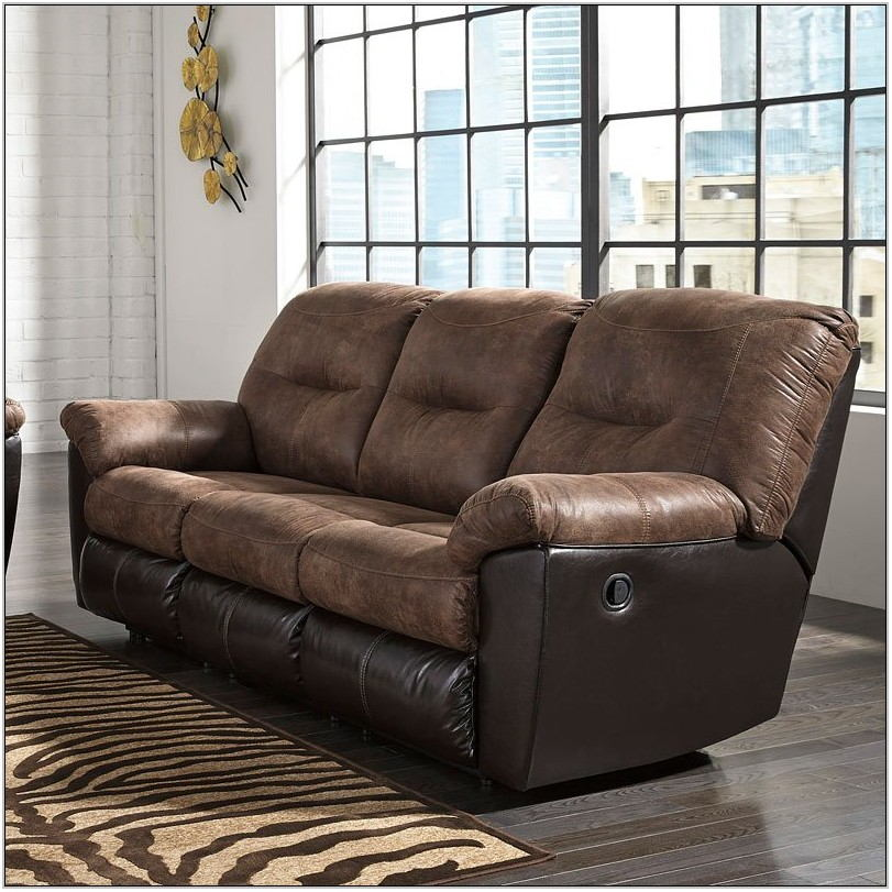 Follett Coffee Reclining Living Room Set
