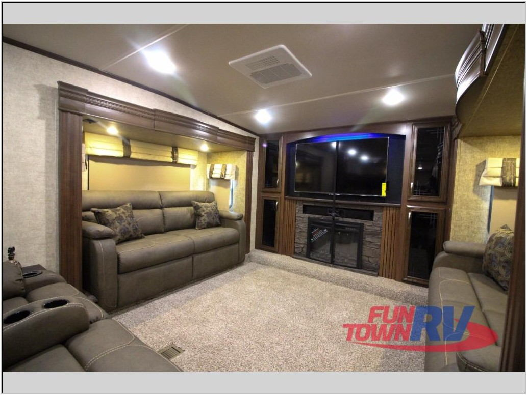 Forest River Fifth Wheel Front Living Room