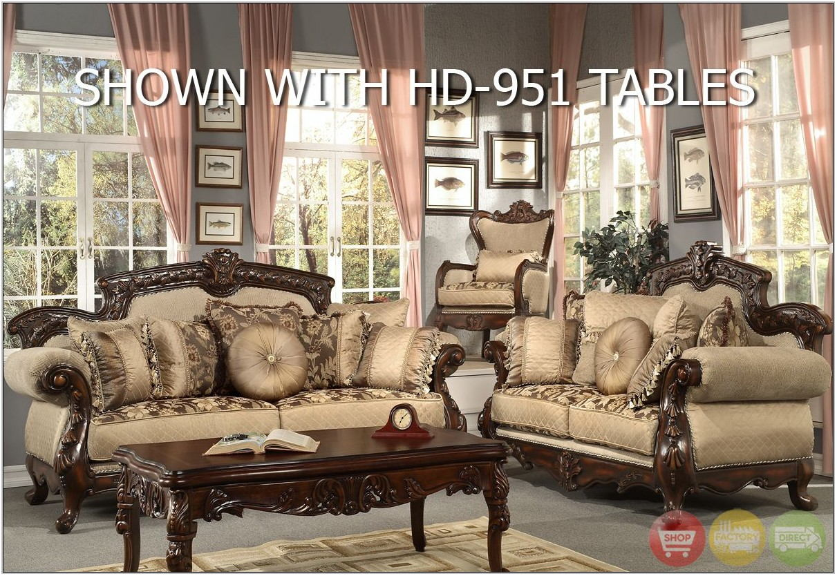 Formal Luxury Living Room Sets