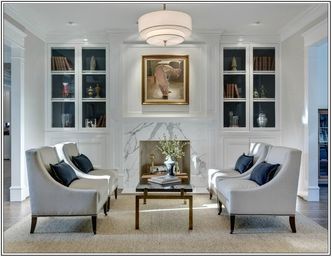 Four Chairs In Living Room