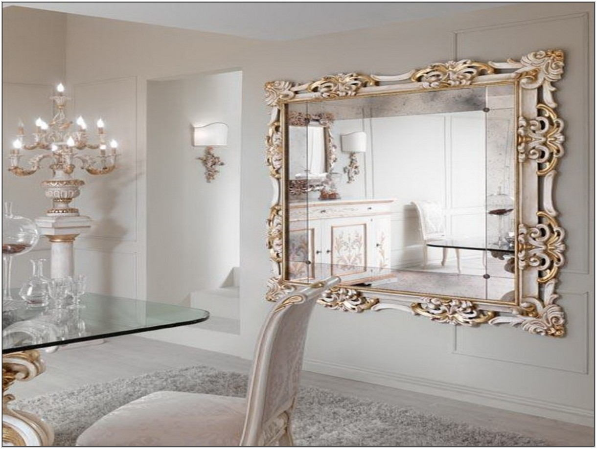 Framed Mirrors For Living Room