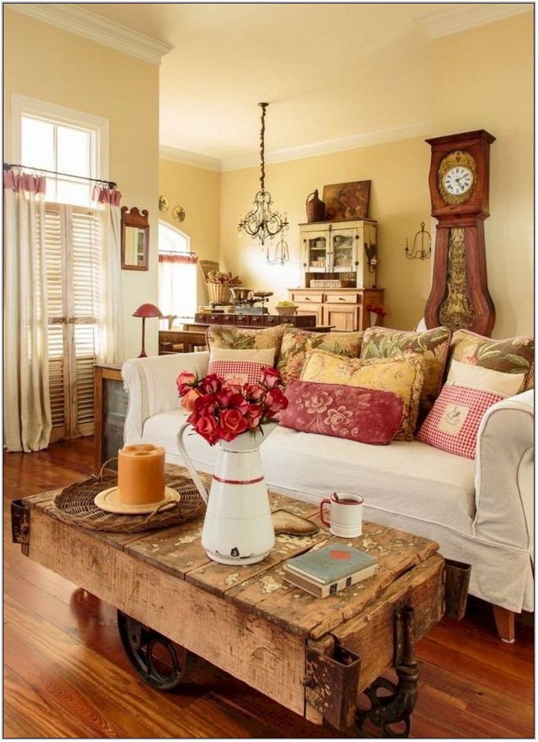 French Country Living Room Tables