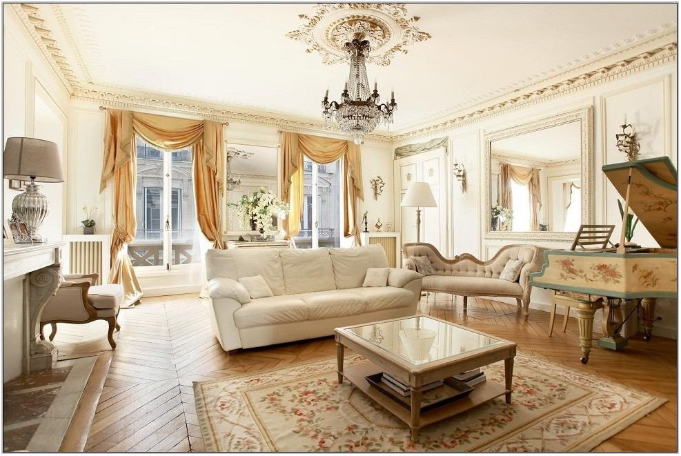 French Style Living Room Design