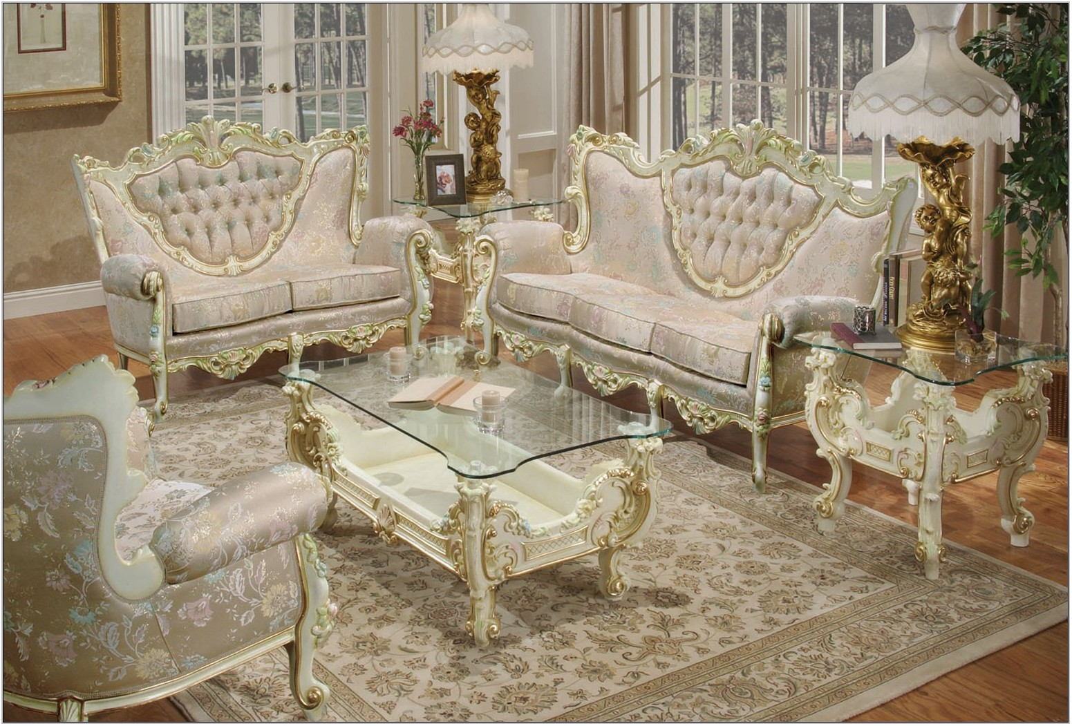 French Style Living Room Set