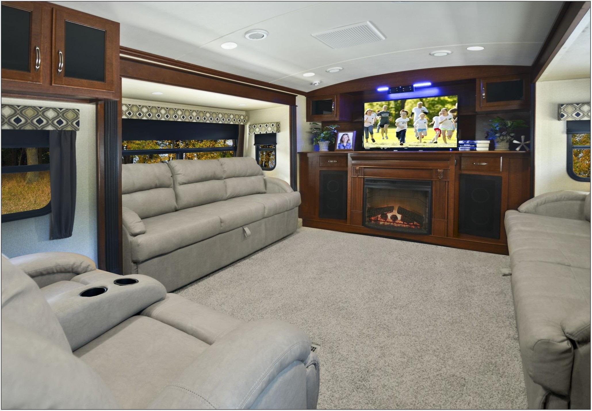 Front Living Room Fifth Wheel Floor Plans