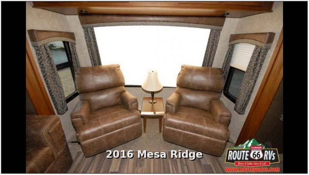 Front Living Room Travel Trailer