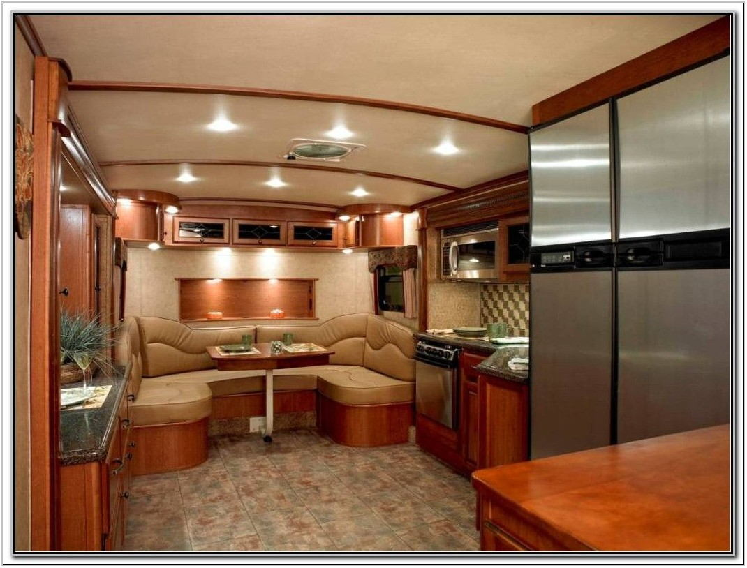 Front Living Room Travel Trailers