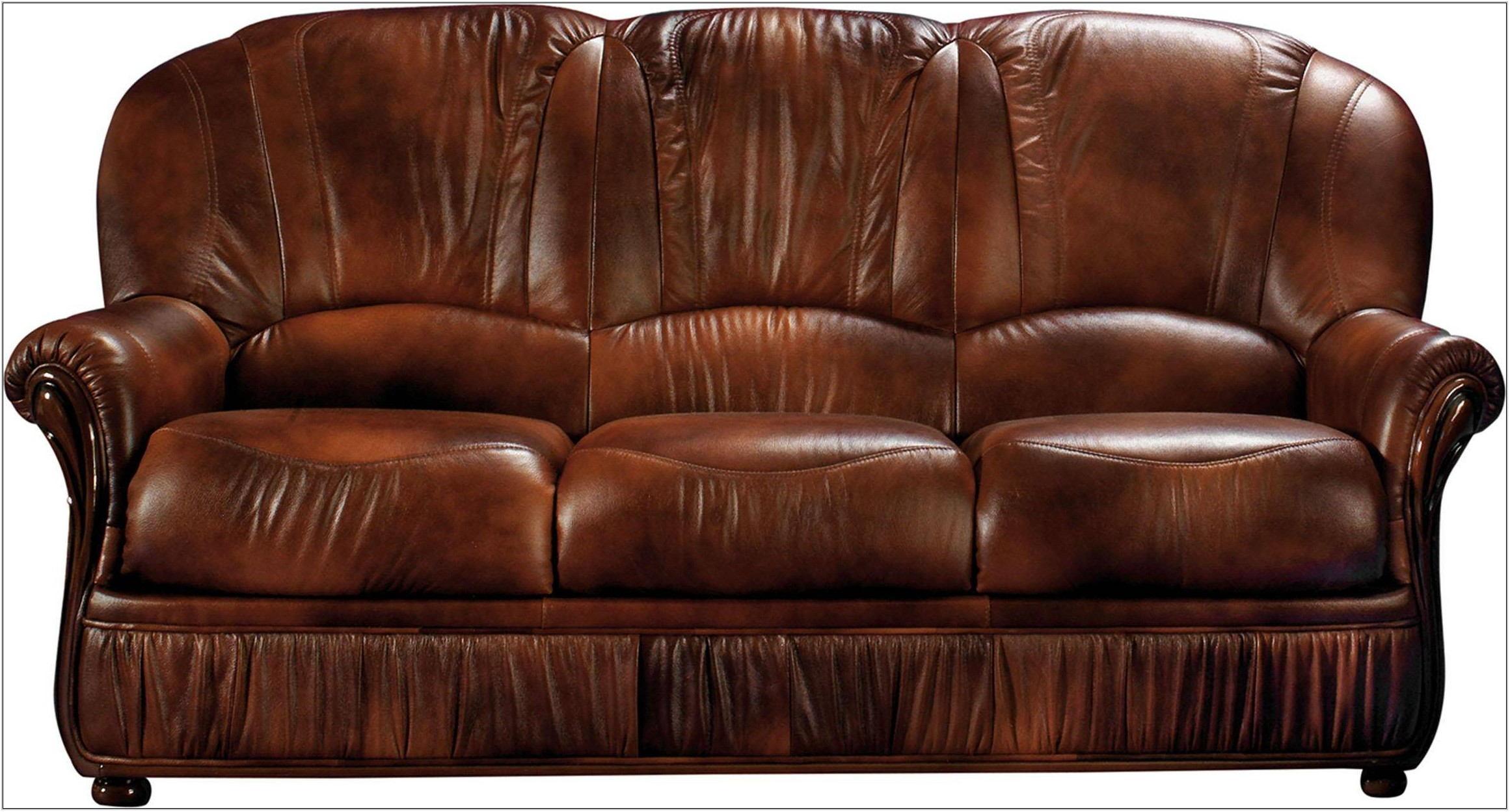Full Grain Leather Living Room Set