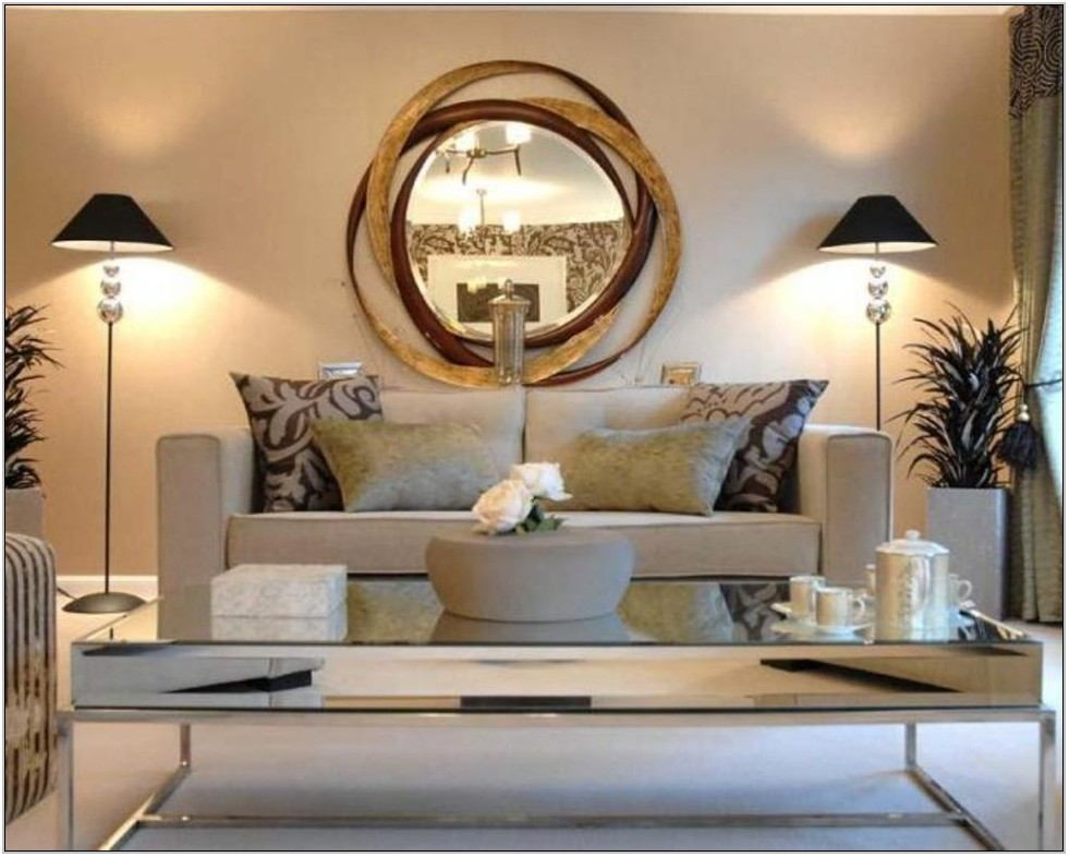 Funky Mirrors For Living Room
