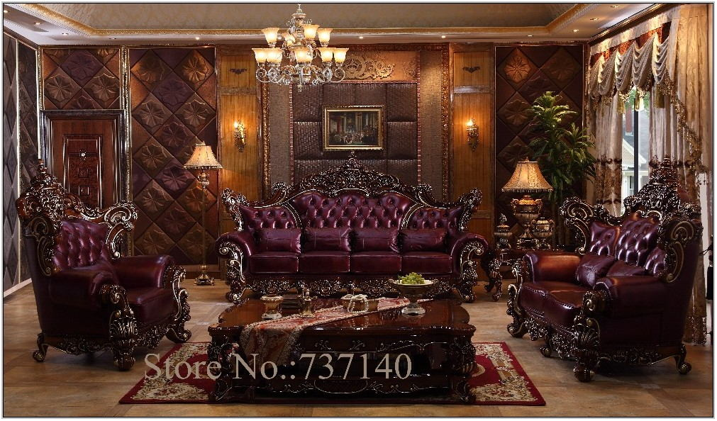 Genuine Leather Living Room Furniture