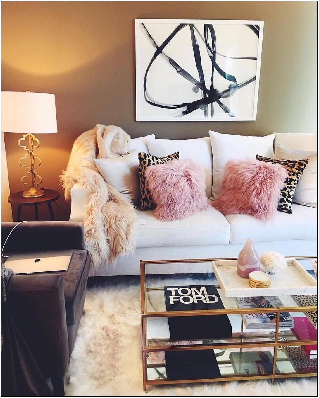 Girly Living Room Decor