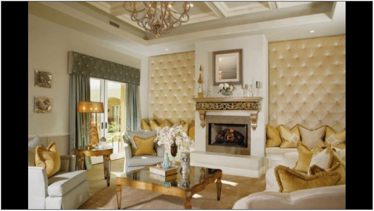 Glamorous Living Rooms Designs